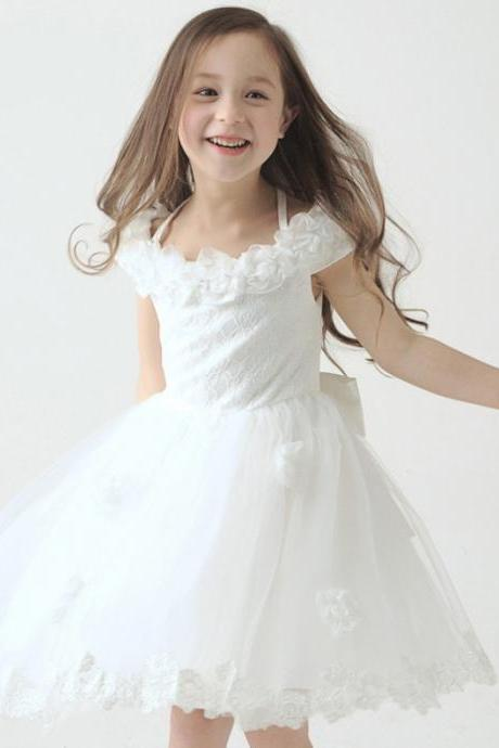 Children Dress,Flower Girls Dresses,Kids Dress,Child Clothing,Girl Brithday Party Dress,Princess Dress,Girl Party Dress,Flower Girls Dresses Ball Gown Belt Floor Length Girls First Communion Dress Party Dress